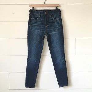 American Eagle high rise skinny jeans jeggings new